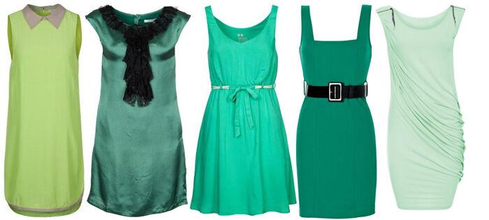 Groene kleedjes | Kleedjes.be