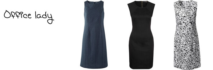 Mouwloze jurken zakelijk online | Kleedjes.be