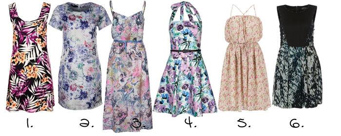 Bloemenprint jurkjes | Kleedjes.be