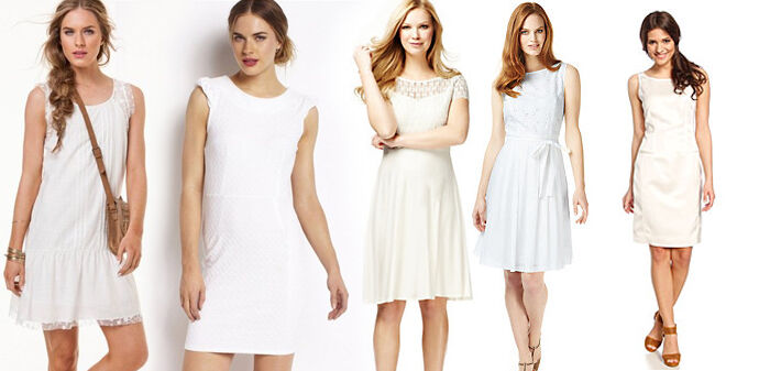Little White Dress | Kleedjes.be