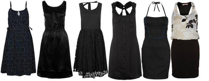 Zwarte zomerjurkjes | Kleedjes.be