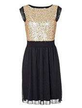 Bodyflirt pailletten jurk
